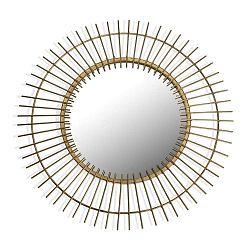 Nástěnné zrcadlo ve zlaté barvě Versa Lukas, ø60cm