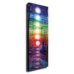 Nástěnný obraz na plátně Lights, 30 x 80 cm