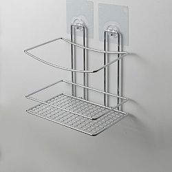 Nástěnný polička do sprchy bez nutnosti vrtání Compactor Shower