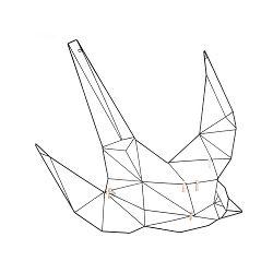 Nástěnný vešák ve tvaru ptáka PT LIVING
