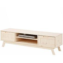 Nízká lakovaná dřevěná skříňka Støraa Olly