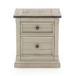 Noční stolek z borovicového dřeva VIDA Living Croft