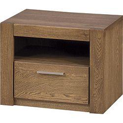Noční stolek z dubového dřeva Szynaka Meble Velvet