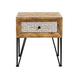 Noční stolek z jedlového dřeva Santiago Pons Nara