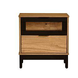 Noční stolek z masivního borovicového dřeva Marckeric Denise
