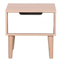 Noční stolek z masivního dubového dřeva Artemob Barry