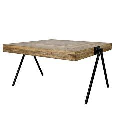Odkládací stolek s deskou  z mangového dřeva HSM collection Seon, délka80cm