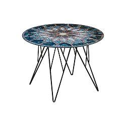Odkládací stolek s mozaikou Actona Sun