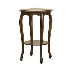 Odkládací stolek v dekoru ořechového dřeva Marianne