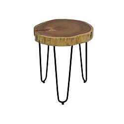 Odkládací stolek z akáciového dřeva HSM collection, Ø 35 cm