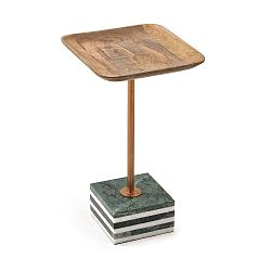 Odkládací stolek z mangového dřeva La Forma Lleyton, výška 25 cm