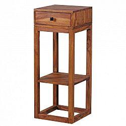 Odkládací stolek z masivního palisandrového dřeva Skyport Mabel