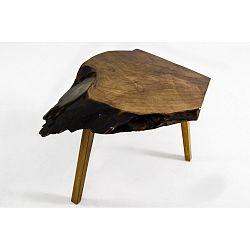 Odkládací stolek zořechového masivu Kendari