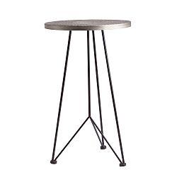 Odkládací stolek ze železa Last Deco Siofok, ø 40 cm