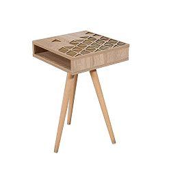 Odkládací stolek Zigon, 40 x 40 cm