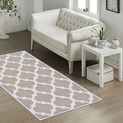 Odolný koberec Vitaus Madalyon Bej, 100x150cm