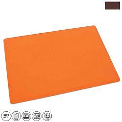 Oranžová silikonový vál Orion, 60x50cm