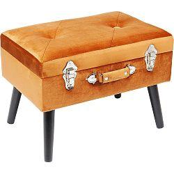 Oranžová stolička Kare Design Suitcase