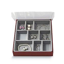 Organizér na šperky s 9 přihrádkami Domopak Bijou,