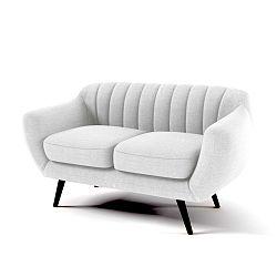 Pastelově šedá 2místná sedačka Vivonita Kennet