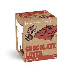 Pěstitelský set se semínky květin s vůní čokolády Gift Republic Chocolate Lover