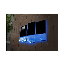 Podsvícený 3dílný obraz Erinye