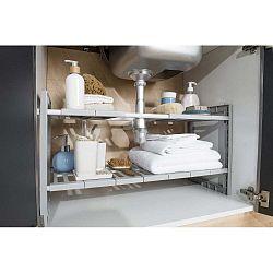 Police do skříňky pod dřez s nastavitelnou šířkou Compactor Expandable Shelf