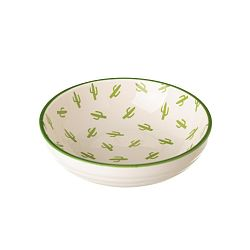 Porcelánová miska Unimasa Kaktus, 39 x 12,6 cm