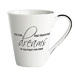 Porcelánový hrnek KJ Collection Dreams, 300 ml