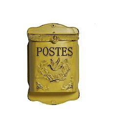 Poštovní schránka Antic Line Jaune
