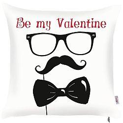 Povlak na polštář Apolena Be My Valentine, 43 x 43 cm