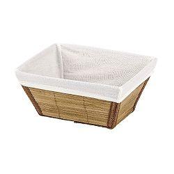 Přírodní košík Wenko Bamboo, 14x20 cm