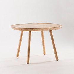 Přírodní odkládací stolek z masivu EMKO Naïve Large