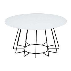 Příruční stolek s deskou z tvrzeného skla Actona Casia, ⌀80cm
