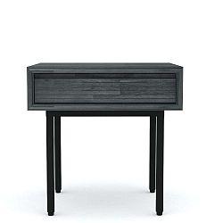 Příruční stolek z akáciového dřeva Livin Hill Capella