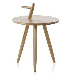 Příruční stolek  z březového dřeva Geese Pure, výška60cm