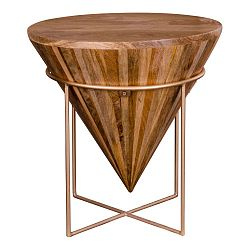 Příruční stolek z mangového dřeva House Nordic Hapur