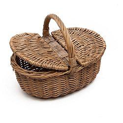 Proutěný košík Antic Line Antique Picnic