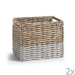 Proutěný úložný box La Forma Woody