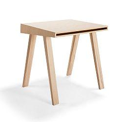 Psací stůl z evropského jasanu EMKO 4.9, 1 šuplík