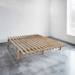 Rám postele z borovicového dřeva Karup Pace,180x200cm