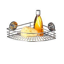 Rohová polička bez nutnosti vrtání Wenko Vacuum-Loc, až 33 kg