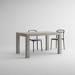Rozkládací jídelní stůl v dekoru betonu MobiliFiver Iacopo, délka140-220cm
