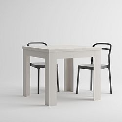 Rozkládací jídelní stůl v dekoru bílé borovice MobiliFiver Eldorado, délka90-180cm