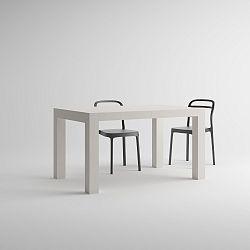 Rozkládací jídelní stůl v dekoru bílé borovice MobiliFiver Iacopo, délka140-220cm