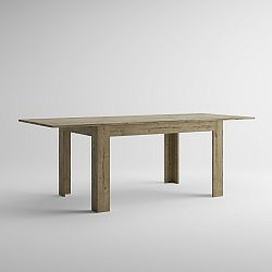 Rozkládací jídelní stůl v dekoru dubu sherwood MobiliFiver Easy, délka140-220cm