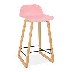 Růžová barová židle Kokoon Astoria