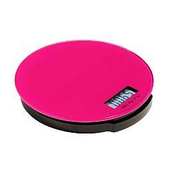 Růžová kuchyňská digitální váha Premier Housewares Zing