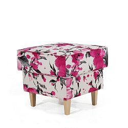 Růžovobílá podnožka Max Winzer Lorris