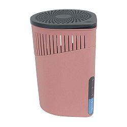 Růžový odvlhčovač vzduchu Wenko Drop